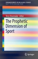Cover image for The Prophetic Dimension of Sport