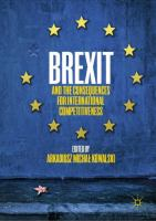 Cover image for Brexit and the Consequences for International Competitiveness