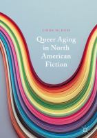 Cover image for Queer Aging in North American Fiction