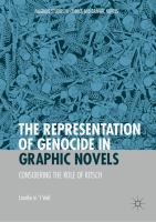 Cover image for The Representation of Genocide in Graphic Novels Considering the Role of Kitsch