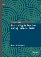 Cover image for Human Rights Practices during Financial Crises