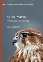Cover image for Animal Visions Posthumanist Dream Writing