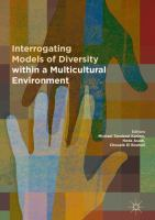 Cover image for Interrogating Models of Diversity within a Multicultural Environment
