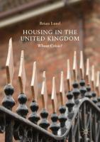 Cover image for Housing in the United Kingdom Whose Crisis?
