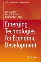 Cover image for Emerging Technologies for Economic Development
