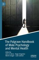 Cover image for The Palgrave Handbook of Male Psychology and Mental Health