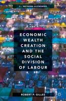Cover image for Economic Wealth Creation and the Social Division of Labour Volume II: Network Economies