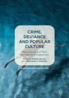 Cover image for Crime, Deviance and Popular Culture International and Multidisciplinary Perspectives