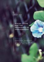 Cover image for Sexual Crime and the Experience of Imprisonment
