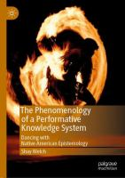 Cover image for The Phenomenology of a Performative Knowledge System Dancing with Native American Epistemology