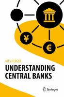 Cover image for Understanding Central Banks