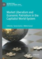 Cover image for Market Liberalism and Economic Patriotism in the Capitalist World-System