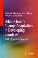 Cover image for Urban Climate Change Adaptation in Developing Countries Policies, Projects, and Scenarios