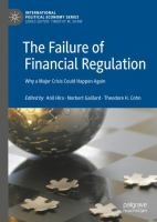 Cover image for The Failure of Financial Regulation Why a Major Crisis Could Happen Again