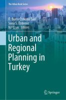 Cover image for Urban and Regional Planning in Turkey