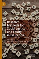 Cover image for Research Methods for Social Justice and Equity in Education