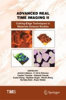 Cover image for Advanced Real Time Imaging II Cutting-Edge Techniques in Materials Science Studies