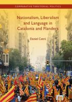 Cover image for Nationalism, Liberalism and Language in Catalonia and Flanders