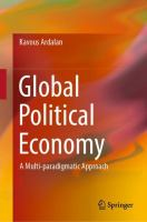 Cover image for Global Political Economy A Multi-paradigmatic Approach
