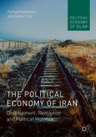 Cover image for The Political Economy of Iran Development, Revolution and Political Violence