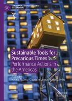 Cover image for Sustainable Tools for Precarious Times Performance Actions in the Americas