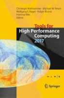 Cover image for Tools for High Performance Computing 2017 Proceedings of the 11th International Workshop on Parallel Tools for High Performance Computing, September 2017, Dresden, Germany
