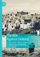 """Cover image for The War Against Civilians Victims of the """"War on Terror"""" in Afghanistan and Pakistan"""