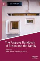 Cover image for The Palgrave Handbook of Prison and the Family