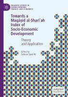 Cover image for Towards a Maqāṣid al-Sharīʻah Index of Socio-Economic Development Theory and Application