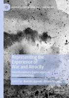 Cover image for Representing the Experience of War and Atrocity Interdisciplinary Explorations in Visual Criminology