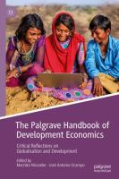 Cover image for The Palgrave Handbook of Development Economics Critical Reflections on Globalisation and Development
