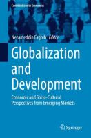 Cover image for Globalization and Development Economic and Socio-Cultural Perspectives from Emerging Markets