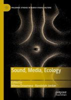 Cover image for Sound, Media, Ecology