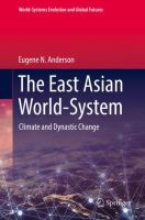 Cover image for The East Asian World-System Climate and Dynastic Change