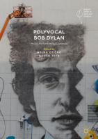 Cover image for Polyvocal Bob Dylan Music, Performance, Literature