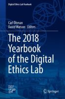 Cover image for The 2018 Yearbook of the Digital Ethics Lab
