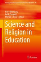 Cover image for Science and Religion in Education