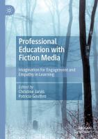 Cover image for Professional Education with Fiction Media Imagination for Engagement and Empathy in Learning