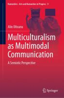 Cover image for Multiculturalism as Multimodal Communication A Semiotic Perspective