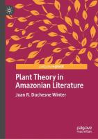 Cover image for Plant Theory in Amazonian Literature