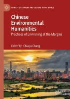 Cover image for Chinese Environmental Humanities Practices of Environing at the Margins