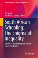Cover image for South African Schooling: The Enigma of Inequality A Study of the Present Situation and Future Possibilities