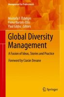 Cover image for Global Diversity Management A Fusion of Ideas, Stories and Practice