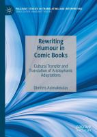 Cover image for Rewriting Humour in Comic Books Cultural Transfer and Translation of Aristophanic Adaptations