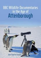 Cover image for BBC Wildlife Documentaries in the Age of Attenborough