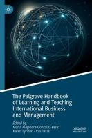 Cover image for The Palgrave Handbook of Learning and Teaching International Business and Management