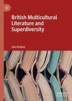 Cover image for British Multicultural Literature and Superdiversity