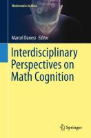 Cover image for Interdisciplinary Perspectives on Math Cognition