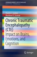 Cover image for Chronic Traumatic Encephalopathy (CTE) Impact on Brains, Emotions, and Cognition