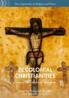 Cover image for Decolonial Christianities Latinx and Latin American Perspectives